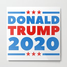 Trump 2020 T-Shirt Metal Print