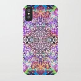 Centaurus Cosmic Mandala iPhone Case