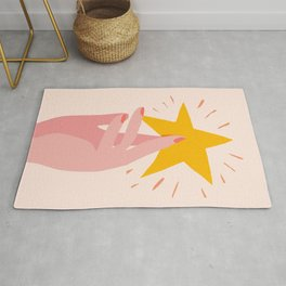 Abstraction_YOU_ARE_A_STAR_Minimalism_001 Rug