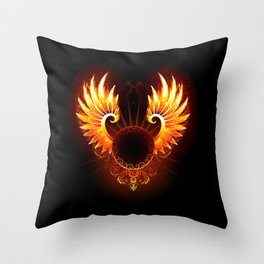 Wings Phoenix Throw Pillow