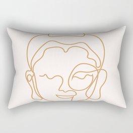Buddha Lined Edition Zero Rectangular Pillow