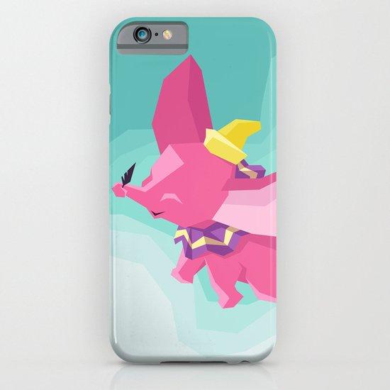 The Flying Elephant iPhone & iPod Case