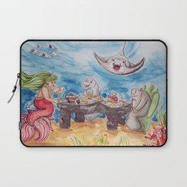 Mermaid Tea Party Laptop Sleeve