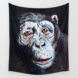 Chimpanzee: One Survivor Wall Tapestry