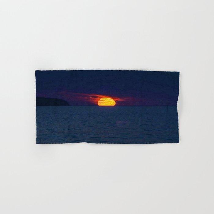 Moonlight on the Ocean Hand & Bath Towel