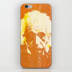 Albert Einstein iPhone & iPod Skin
