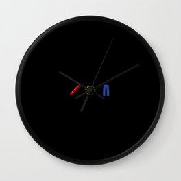Kenny JR emoji Wall Clock