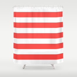 Beach Lines Shower Curtain