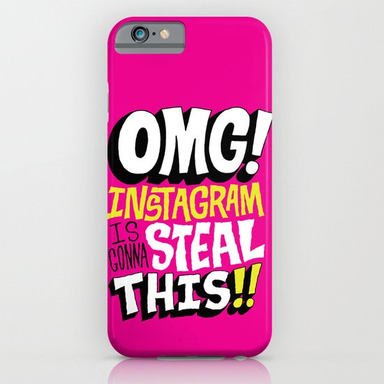 OMG! INSTAGRAM! iPhone & iPod Case