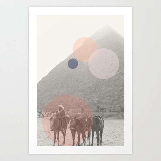 Pyramid//Eight Art Print