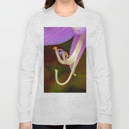 Pink flower Hosta Long Sleeve T-shirt