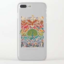 Aerial Spectrum : Blue Clear iPhone Case