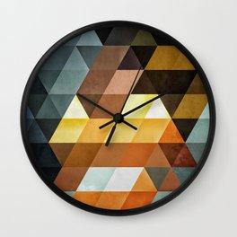 #0013 // gyld^pyrymyd Wall Clock