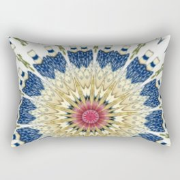 Antique Oriental Vase Kaleidoscope Rectangular Pillow