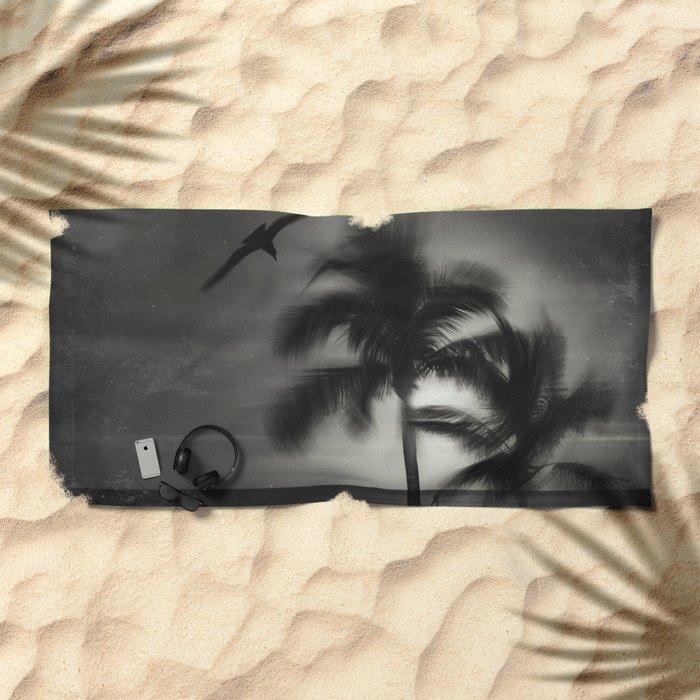 wild palmS Beach Towel