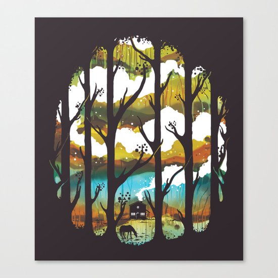 A Magical Place Canvas Print