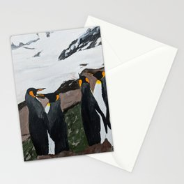 Penguin Print Stationery Cards