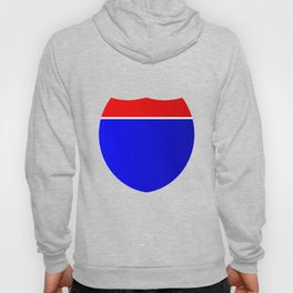 Interstate Sign Abstract Hoody