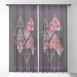 Purple Fall #society6 #decor #buyart Sheer Curtain