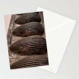 Antique Chocolate Egg Mold Stationery Cards