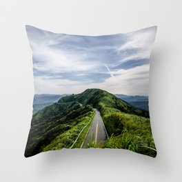 road to heaven Throw Pillow