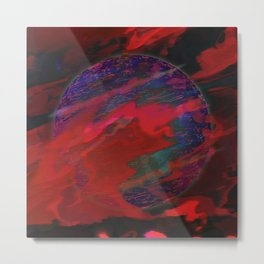 Atmospheric Disturbance - World 22-01-17 Metal Print