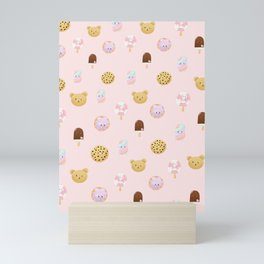 Sweet wallpaper design Mini Art Print