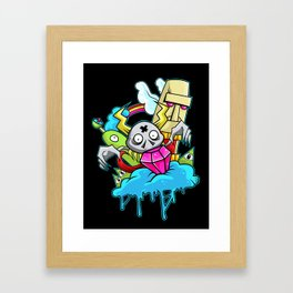 That Ol' Gem Plucker Framed Art Print