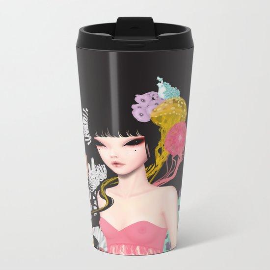 Princess of the sea Metal Travel Mug
