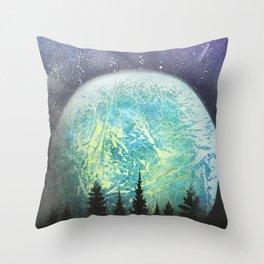 Beyond The Trees Throw Pillow