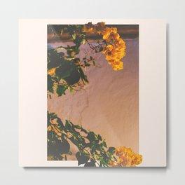 Flores Amarillas Metal Print
