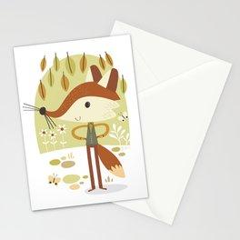 Mr. Fox Stationery Cards