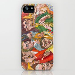 All That Jazz  - New Orleans Jazz Band iPhone Case