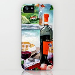 The Wine Painting iPhone Case