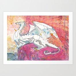 Dragon of Dawn Art Print