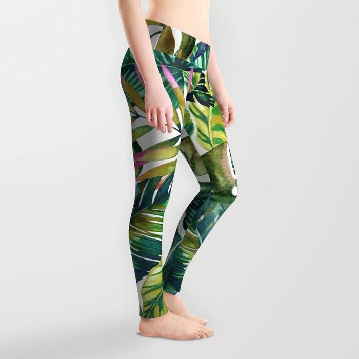 banana life Leggings