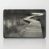 boardwalk empire iPad Cases featuring Boardwalk by Curt Saunier