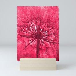 Make a wish (red) Mini Art Print