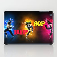 hip hop iPad Cases featuring Hip Hop by ezmaya