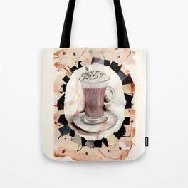 Hot: Chocolate Tote Bag