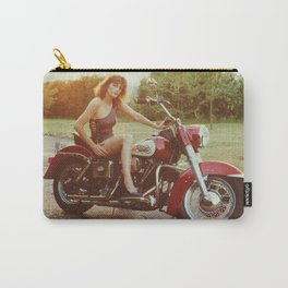 Motorcycle and Pinup Carry-All Pouch
