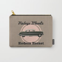 Vintage Wheels: Hudson Hornet Carry-All Pouch
