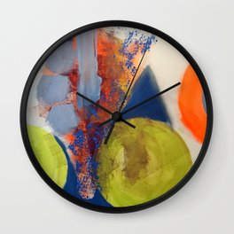 Rolled out Wall Clock