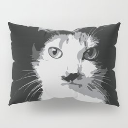A Feline Mastermind Pillow Sham