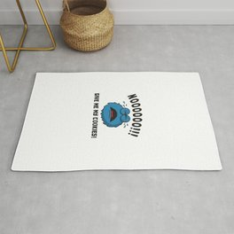 GDPR No More Cookies Monster Gift Rug