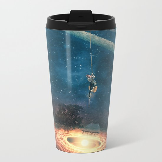 My dream house is in another galaxy Metal Travel Mug