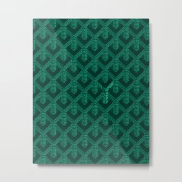 Goyard Metal Print