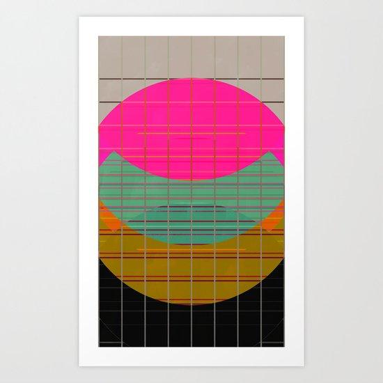 grid err Art Print
