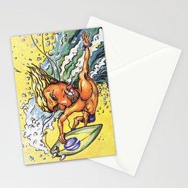 Brazilian Surf Boy Stationery Cards