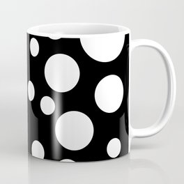Black and White Spotted Design Coffee Mug